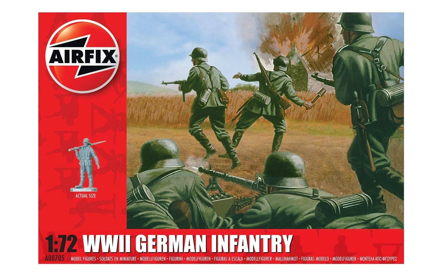 Airfix #A00705 1/72 WWII German Infantry