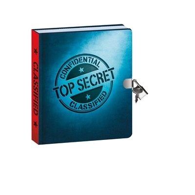 TOP SECRET LOCK & KEY DIARY