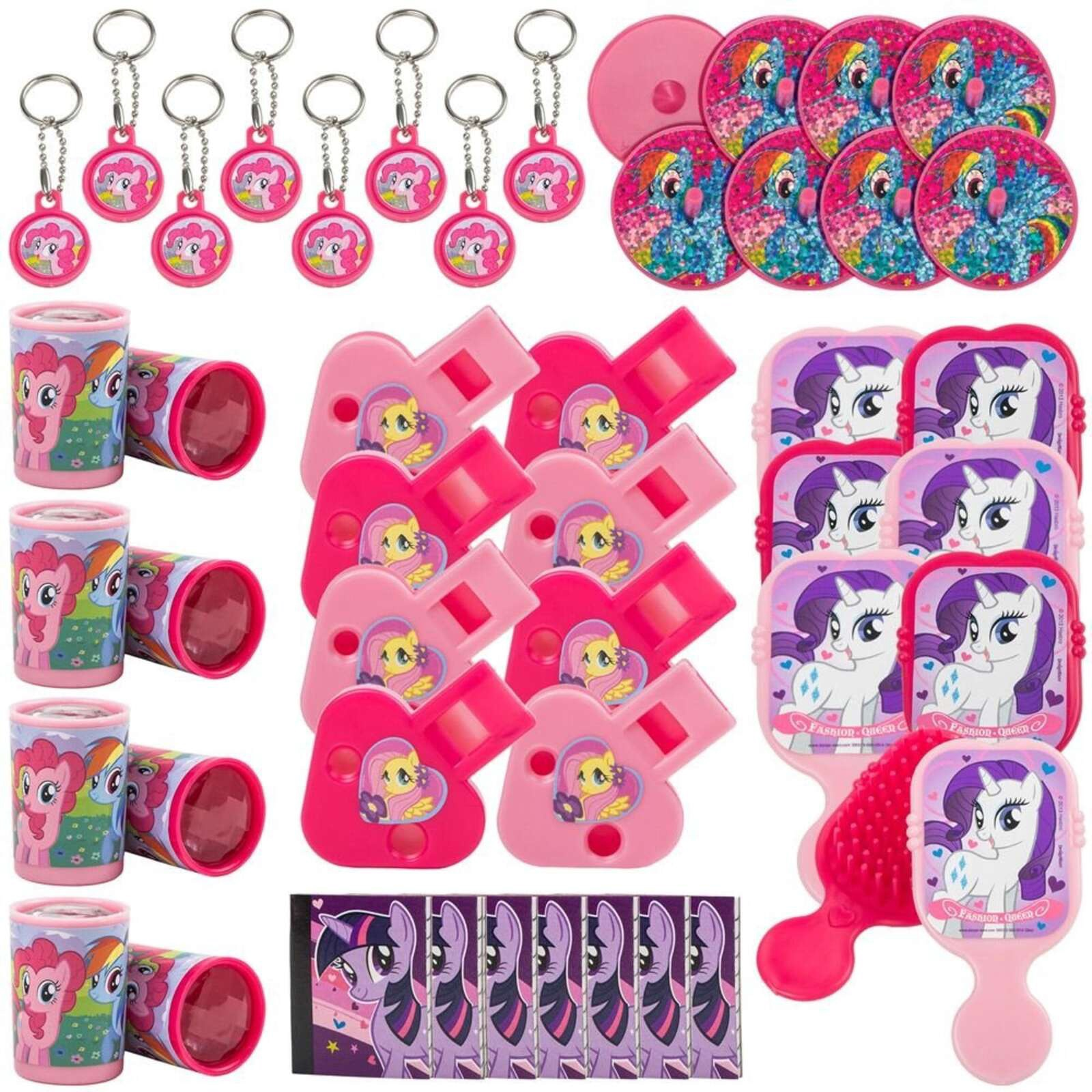 MY LITTLE PONY MEGA MIX VALUE PACK 48 PCS