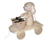 Wooden Toy Co Dog Xylo
