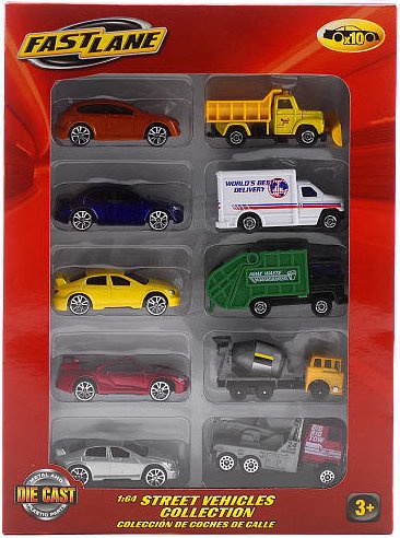 SUPER WHEELS DIE-CAST METAL10