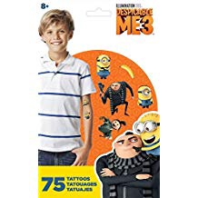 TATTOOS DESPICABLE ME