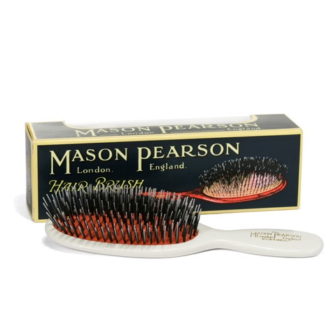 Mason Pearson pocket nylon & bristle Brush