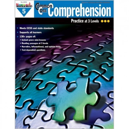 X NL 1302 COMMON CORE COMPREHENSION GR. 5