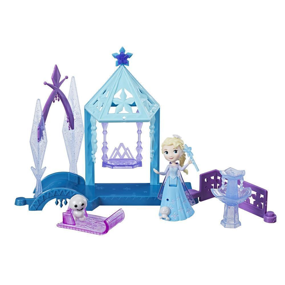 FROZEN LITTLE KINGDOM ICE GARDEN GAZEBO