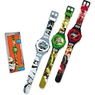 START WARS SLIM ANALOGUE WATCH ASST
