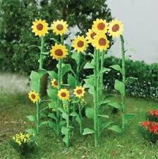 JTT #95523 HO Sunflowers 16pce