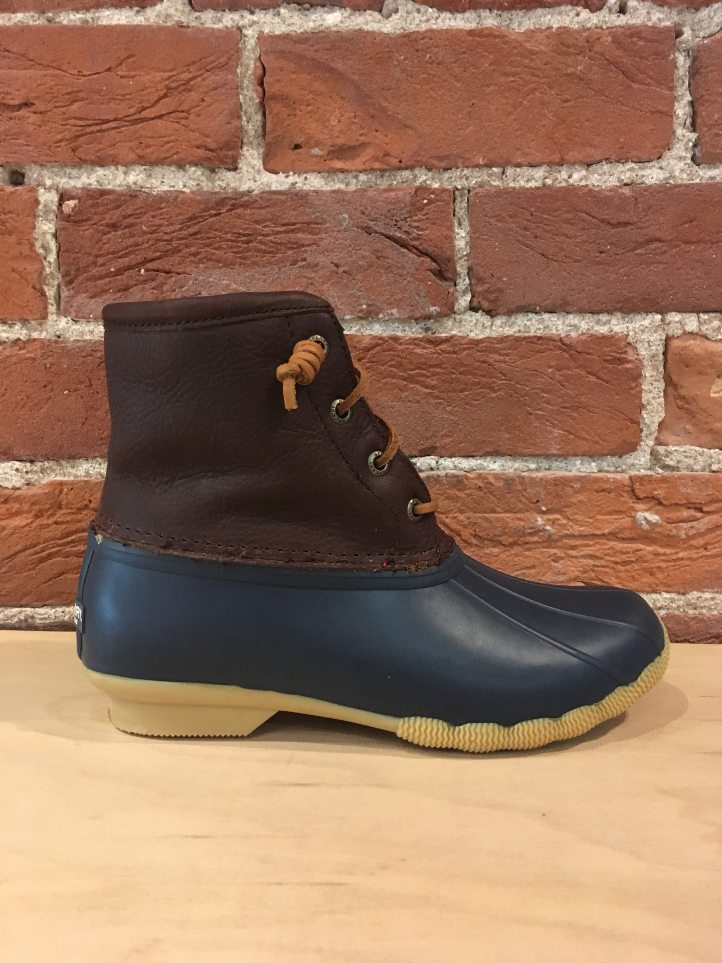 SPERRY - SALTWATER DUCK BOOT WITH THINSULATE IN NAVY