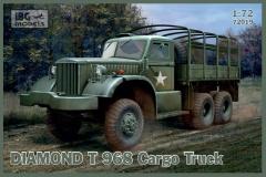 IBG Models #72019 1/72 Diamond T 968 Cargo Truck