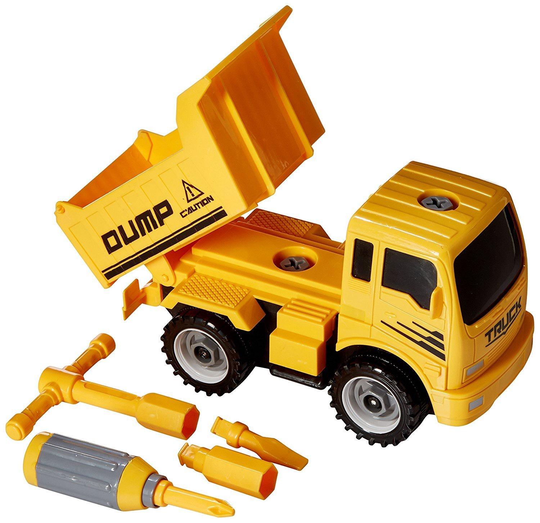 CONSTRUCT A TRUCK DUMP
