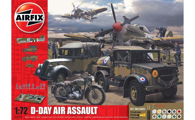 Airfix #A50157A 1/72 D-Day Air Assault