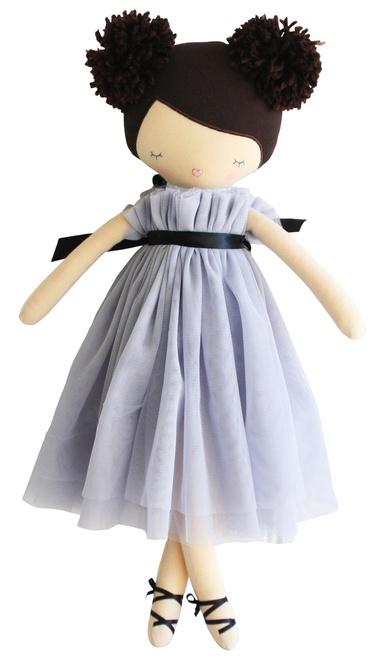Alimrose Ruby Pom Pom Doll - Lavender