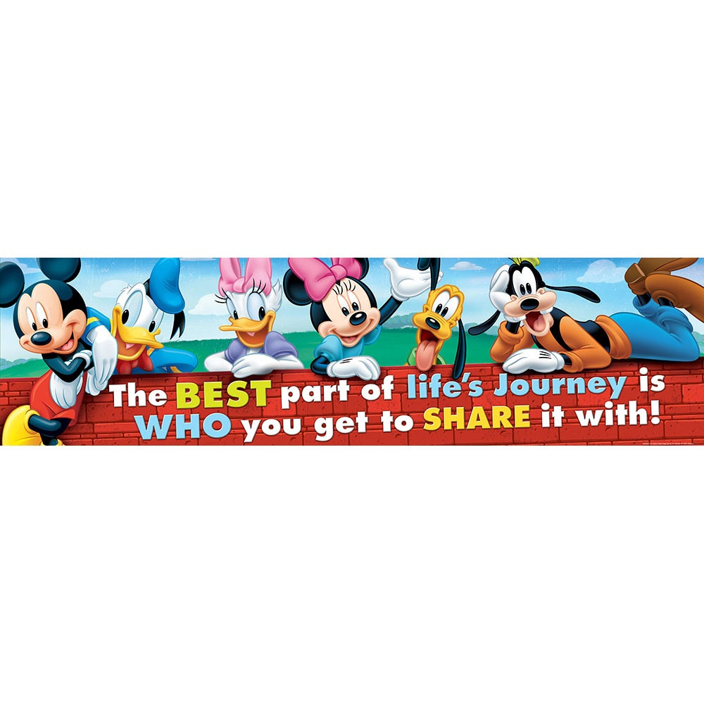 X EU 849037 MICKEY FRIENDSHIP BANNER