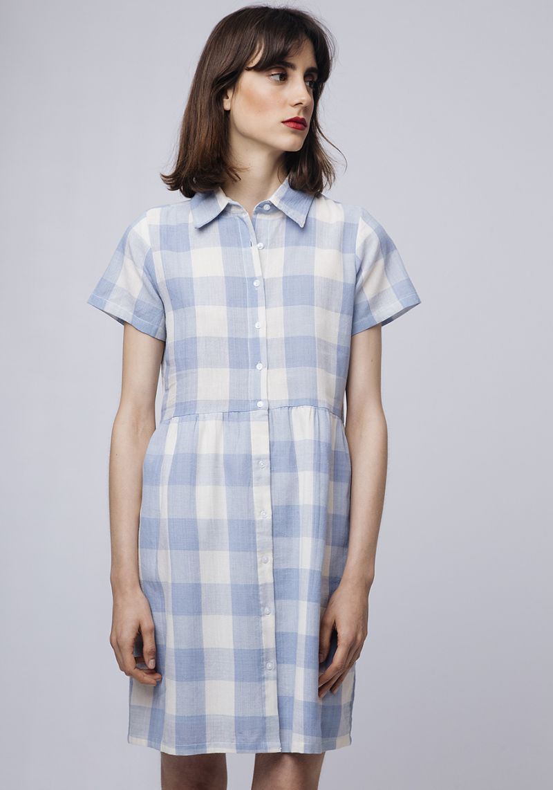 Compania Fantastica Gingham Dress