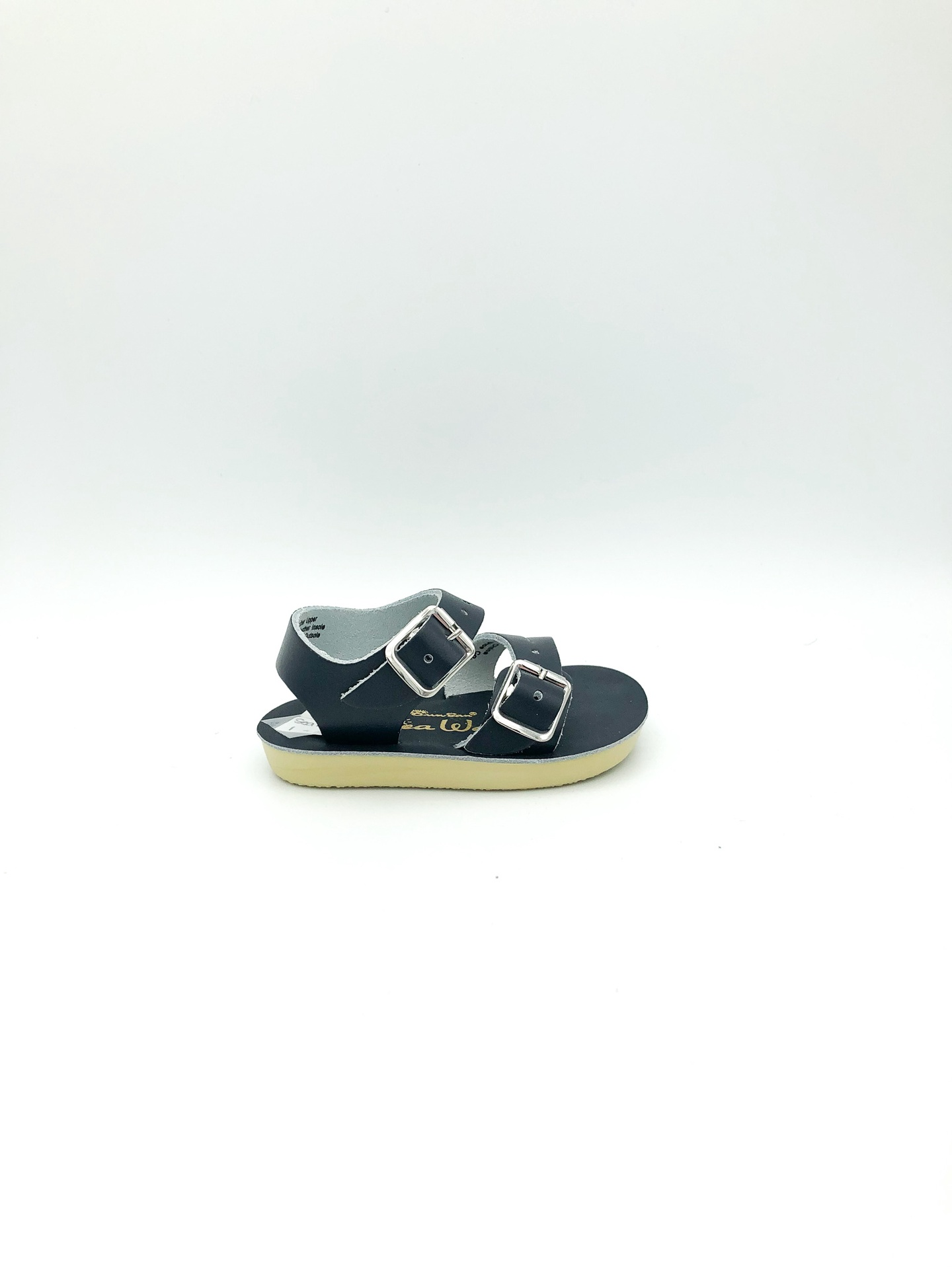 SALT WATER SANDALS - SEA WEES IN NAVY (INFANT 1-3)