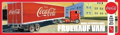 AMT #1109 1/25 Fruehauf Coca Cola Trailer