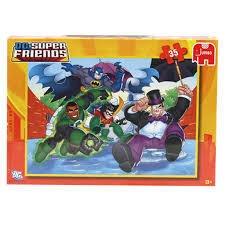 SUPER FRIENDS 35 PIECES PUZZLE