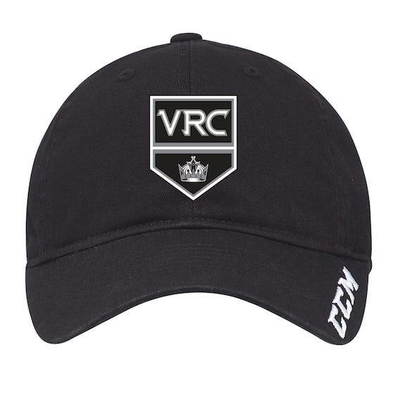 CCM Slouch Adjustable Hat-VRC Shield Logo