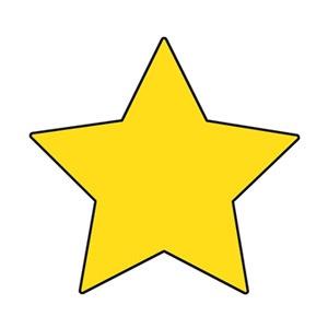 T 10547 LITTLE STAR MINI CUTOUTS