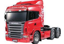 Tamiya #56323 1/14 Scania 620 6x4 Highline Truck kit