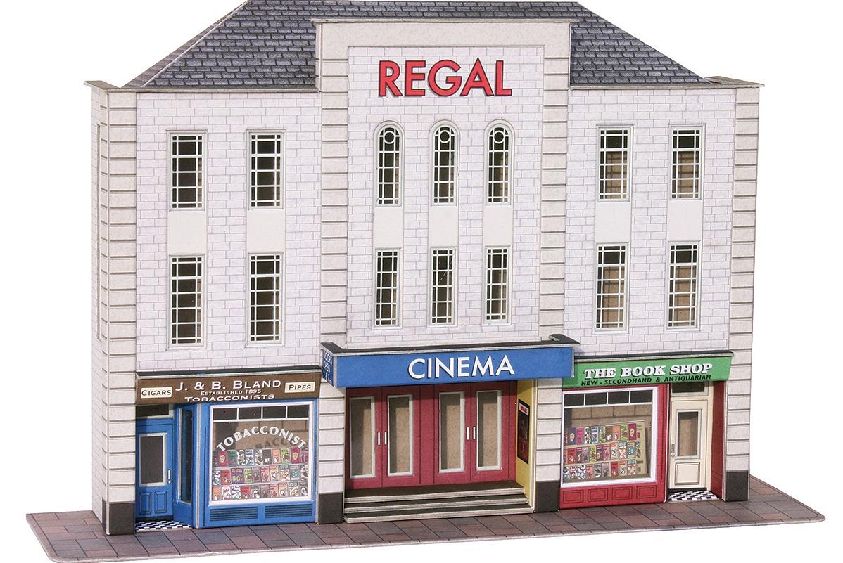 Metcalfe #PO206 OO/HO Low Relief Cinema