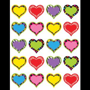 TCR 5185 FANCY HEART STICKERS