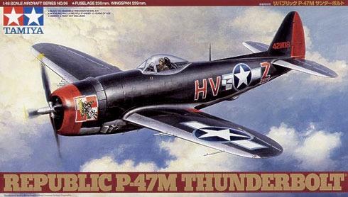 Tamiya #61096 1/48 Republic P-47M Thunderbolt