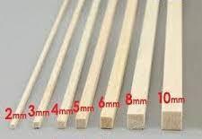 Balsa Wood BNM#1054 3/16x3/16 (5.0mm) Square Balsa Wood
