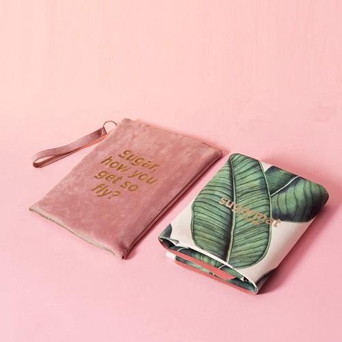 Tropical Leaf Travel Yoga Mat