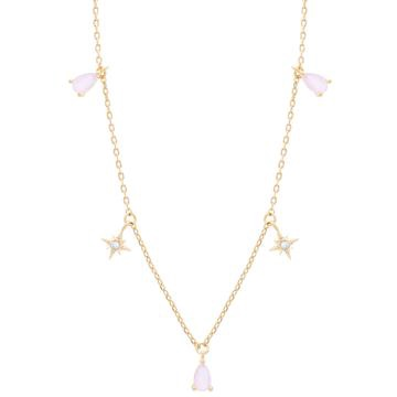 Girls Crew Bubblegum Dangle Necklace