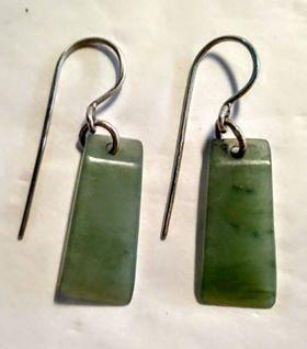 Small inanga toki earrings 1-355