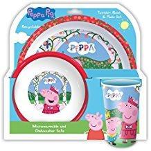 PEPPA PIG BOWL PLATE SET