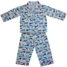 Powellcraft Douglas Planes Cotton Pyjamas