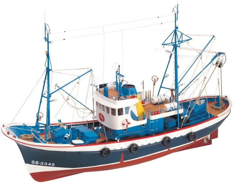 Artesania #20506 1/50 Marina II Tuna Fishing Boat Wooden Kitset