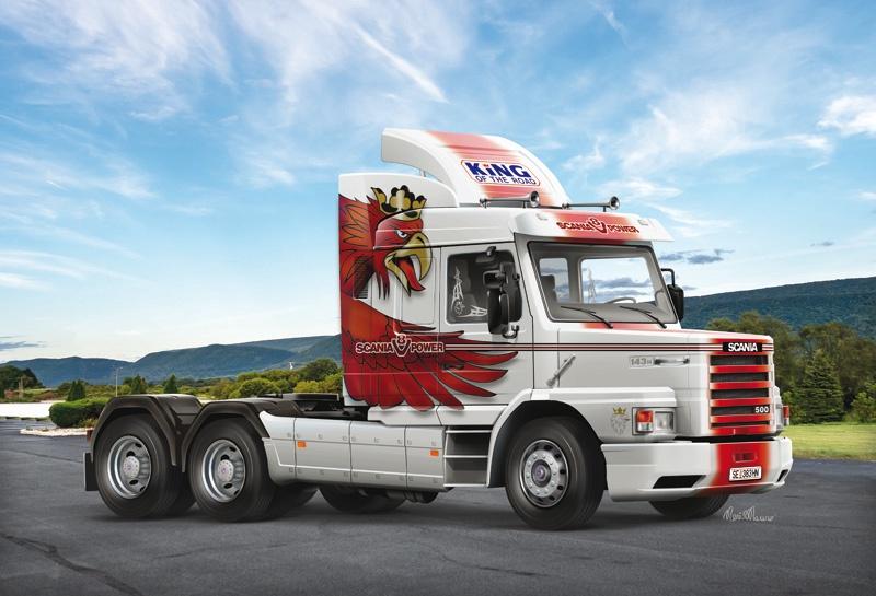 Italeri #3937 1/24 Scania T143H 6x2