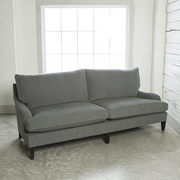 2 CUSHION SOFA - POSH GREY