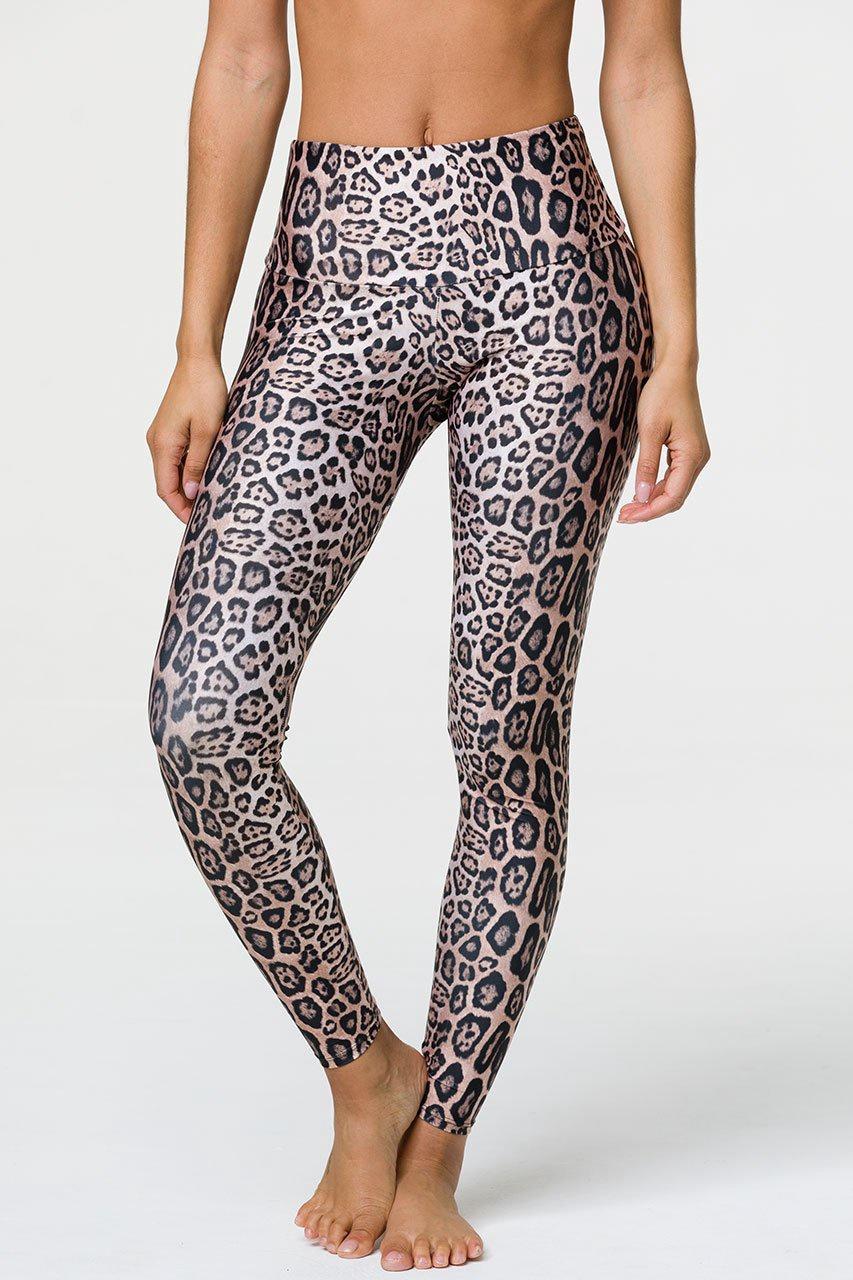 High Rise Legging Leopard