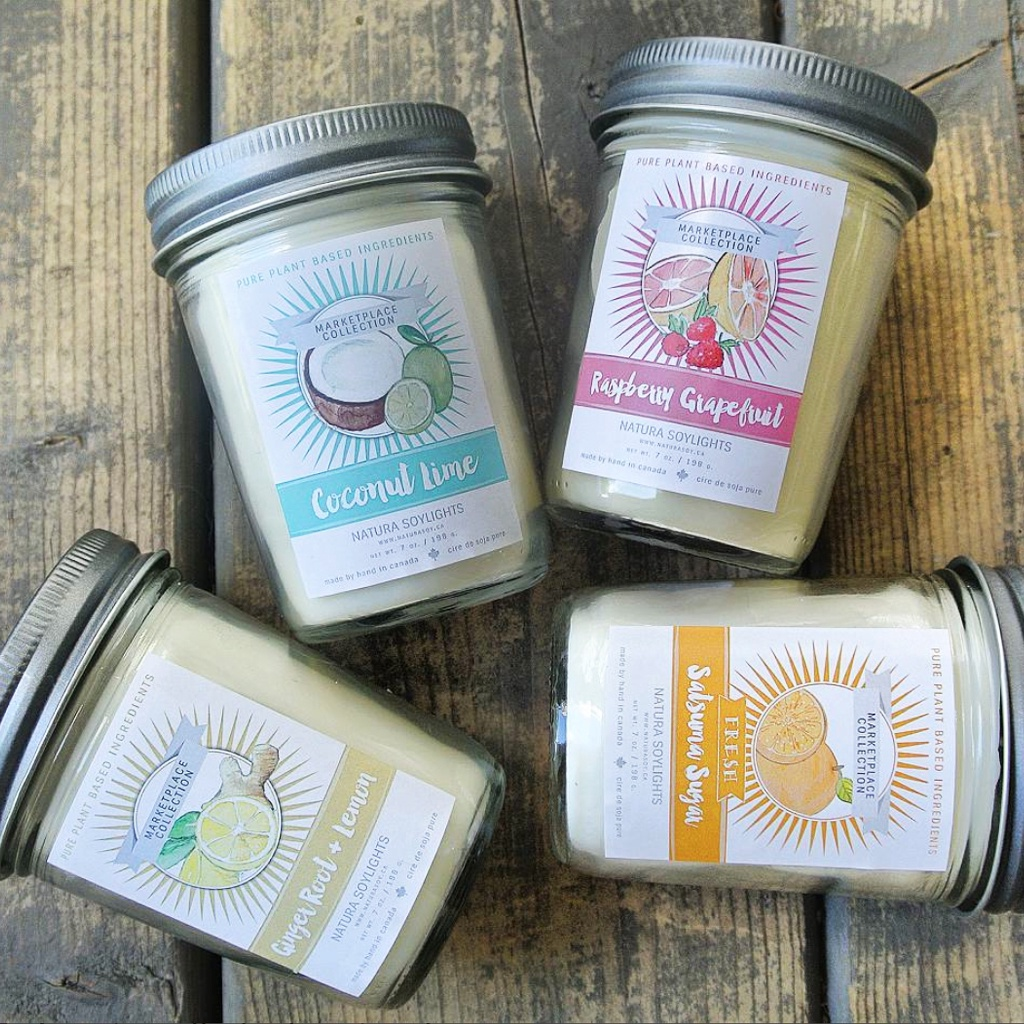 Marketplace Jar Candles