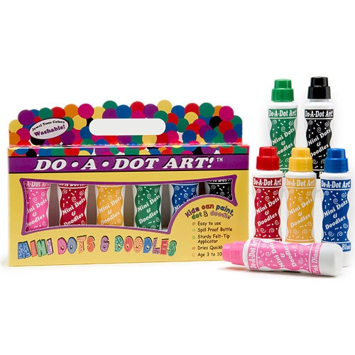 MINI DOTS & DOODLES 6 PACK
