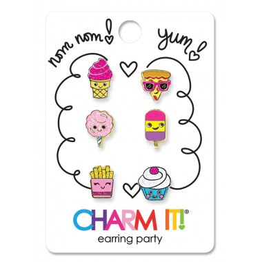 CHARM IT! - YUM! EARRING PARTY SET