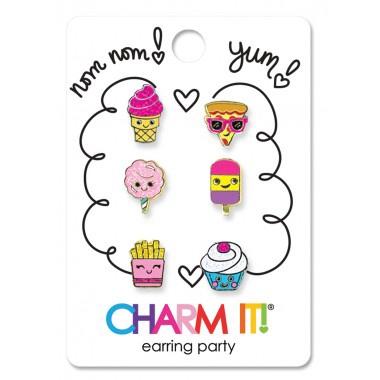 CHARM IT! - YUM! EARRING PARTY SET