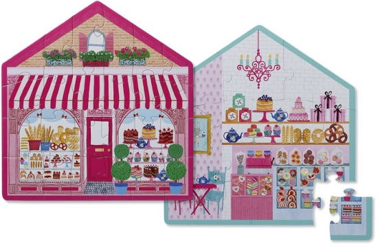 TWO SIDED SWEET SHOP 24 PCS
