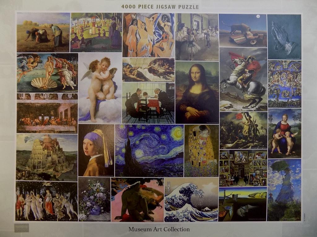 MUSEUM ART COLLECTION 1000 PCS