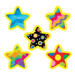 CTP 7154 POP. PATT. STAR STICKERS