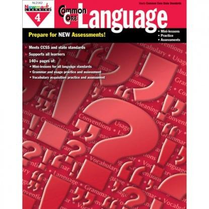 X NL 2162 COMMON CORE LANGUAGE GR. 4