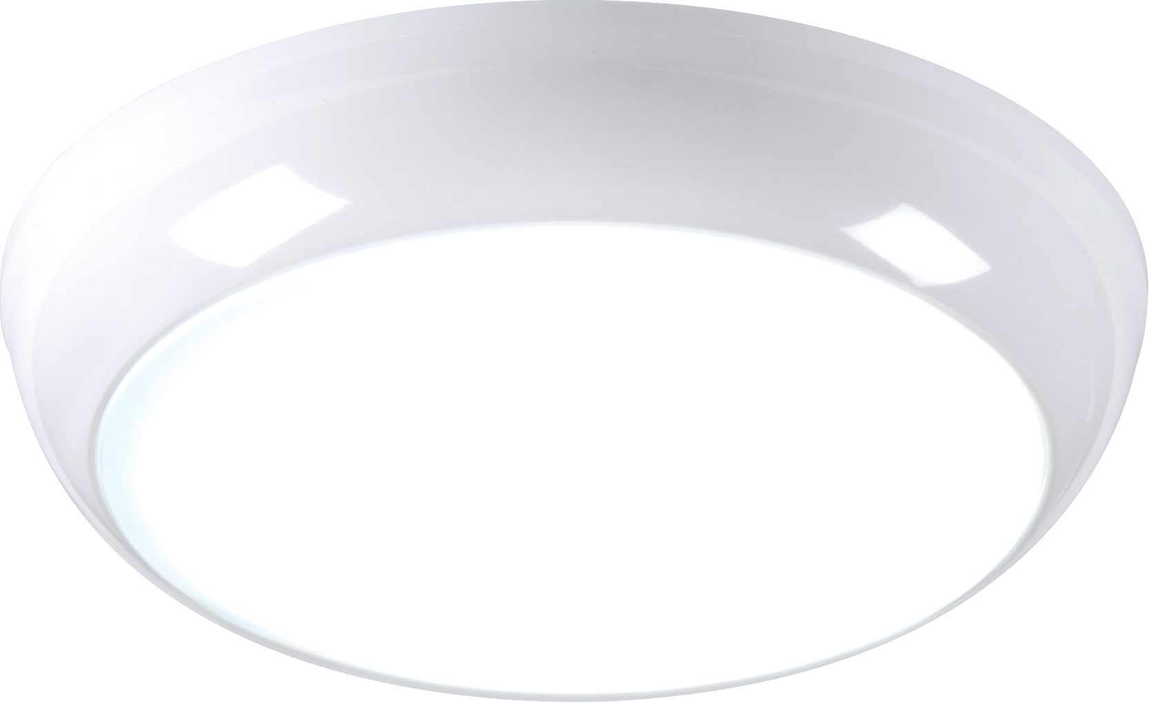230V IP44 14W LED Bulkhead with Sensor/Dimming Function 6000K