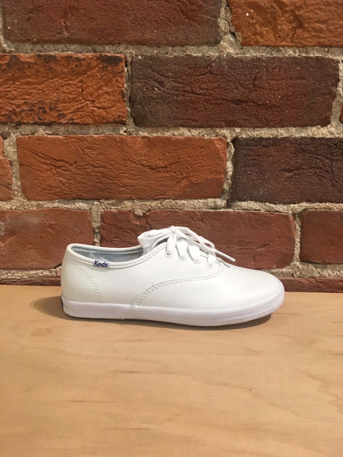 KEDS - KIDS CHAMPION CVO WHITE LEATHER
