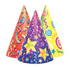 KALEIDOSCOPE CONE HATS