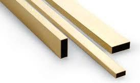 K&S # 8266 Rectangle Brass Tube 5/32 x 5/16 x .014 (3.97 x 7.94mm) 1pc