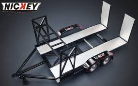 ACME #18884 1/18 Nickey Trailer with Tyre Rack